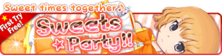Sweets Party!! Gacha Banner