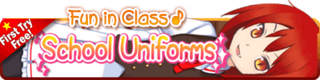 School Uniforms Gacha Banner