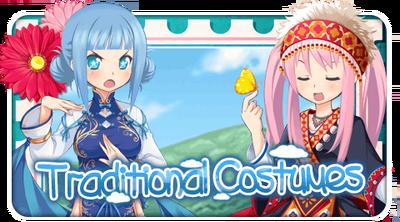 Traditional Costumes Gacha Top
