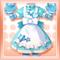 Lovely Mitten Dress Blue
