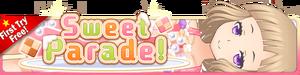 Sweet Parade Gacha banner