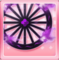 Flaming Wheels Purple