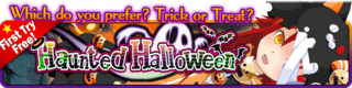 Haunted Halloween Gacha Banner