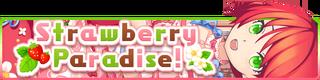 Strawberry Paradise! banner