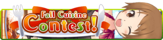 Fall Cuisine Contest banner