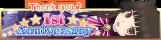 1st Anniversary Gacha Banner