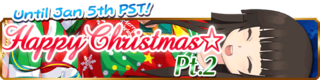 Happy Christmas Pt.2 banner