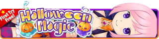 Halloween Magic Gacha banner
