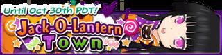 Jack-O-Lantern Town banner