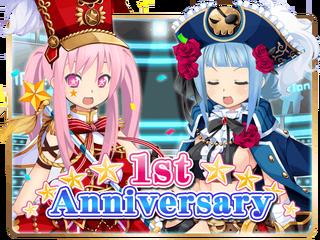 1st Anniversary Gacha Top