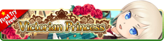 Victorian Princess Gacha banner
