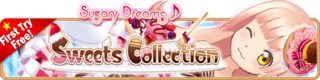 Sweets Collection Gacha Banner