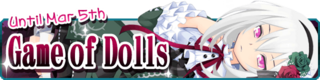 Game of Dolls Banner