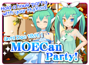 Moe Can Party Banner