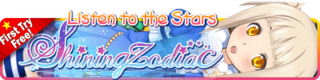 Shining Zodiac Gacha Banner