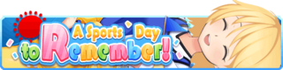 A Sports Day to Remember banner