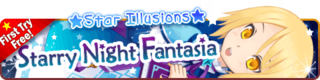 Starry Night Fantasia Gacha Banner