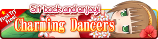 Charming Dancers Gacha Banner