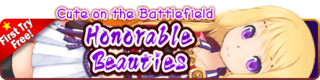 Honorable Beauties Gacha Banner