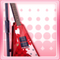 Punkish Electric Guitar Red