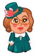 Customer Miss Bookworm