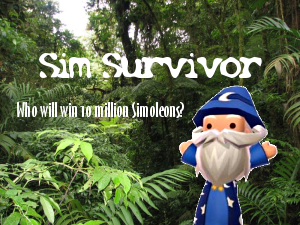 Sim Survivor Ad