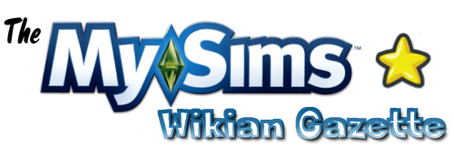 MySims Wikian Gazette Logo