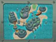Pirate Cove Map
