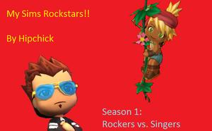 My sims rockstars logo