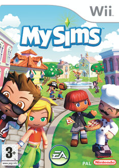 Jaquette MySims Wii