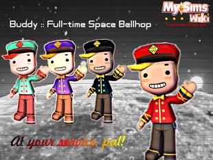 Buddy Space Bellhop