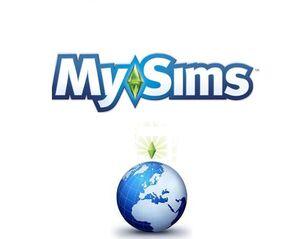Mysims world logo