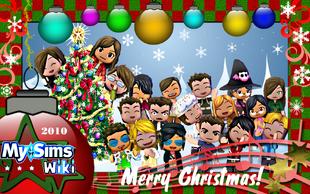 A MySims Wiki Christmas