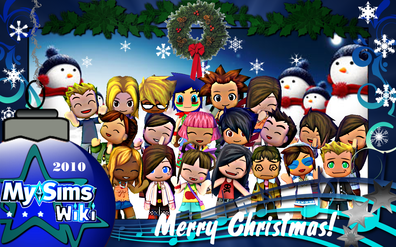 Image - A MySims Wiki Christmas 2.png | MySims Wiki | FANDOM ...