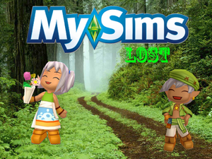 MySims Lost Poster