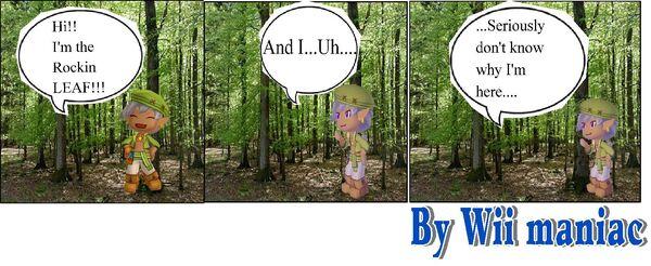 Leaf Forest Comic