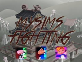 MySims Fighting ad