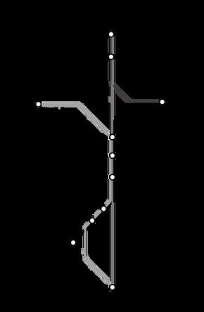 MySims Metro Map
