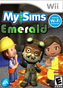 MySims Emerald Boxart (Wii)