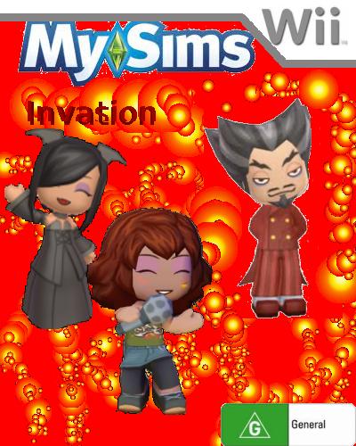 MySims Invation Boxart 1
