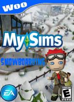 MySimsSnowboardingWoo