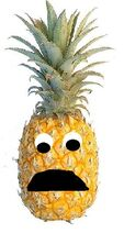 Perry the Pineapple sad