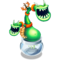 Green Prismatic Potbelly
