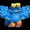 Blue Prismatic Tweedle