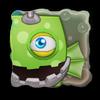 Monster portrait square ac 3