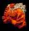 Orange Prismatic Shrubb