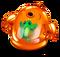 Orange Prismatic Spunge
