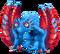 Blue Prismatic Glowl