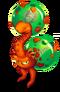 Orange Prismatic Dandidoo