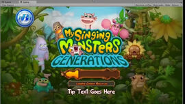 My Singing Monsters Generations Loading Screen